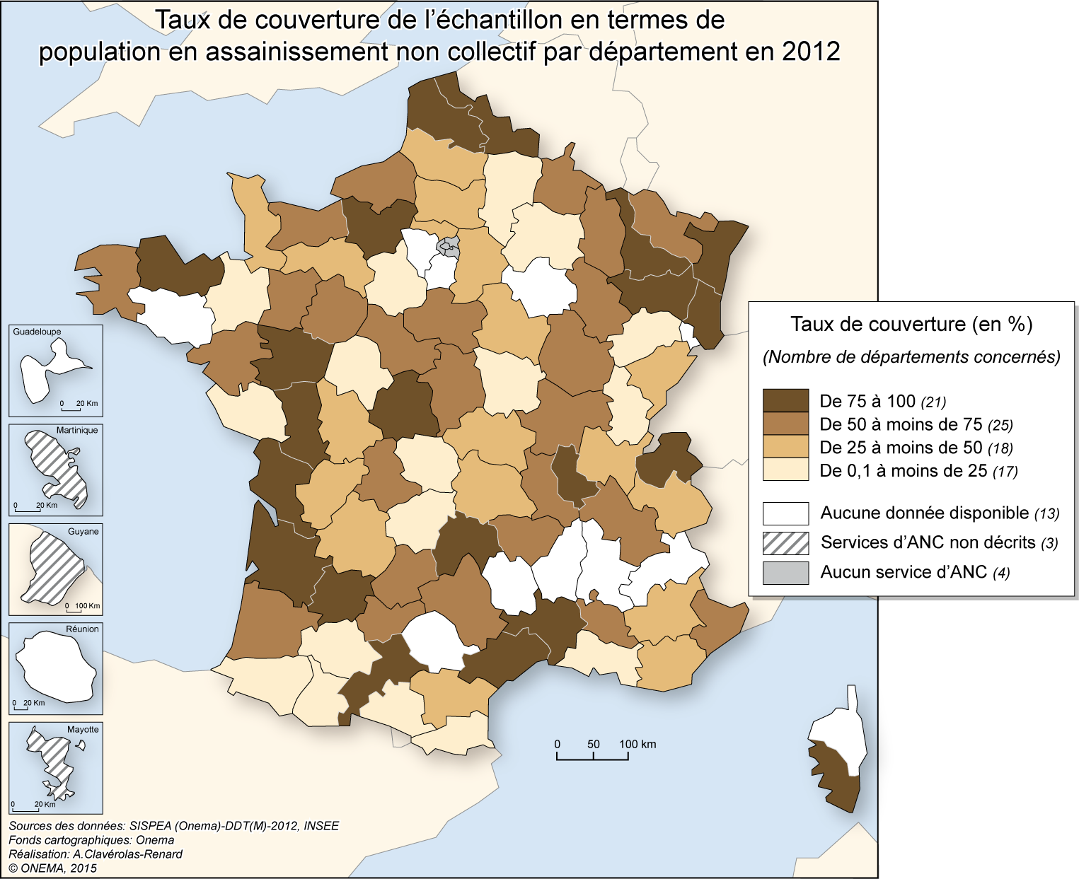 Couverture assainissement non collectif (en population)